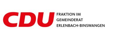 CDU Fraktion im Gemeinderat Erlenbach-Binswangen